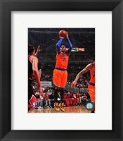 Framed Carmelo Anthony 2013-14 shooting
