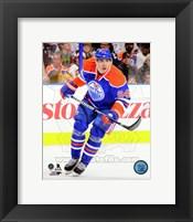 Framed Nail Yakupov on ice 2013-14