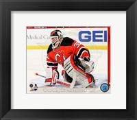 Framed Martin Brodeur Hockey Goaltending