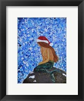 Framed Winterland Mermaid