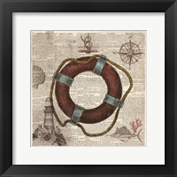 Framed Nautical Collection IV