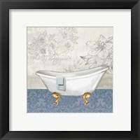 Garden Bath I - Mini Framed Print