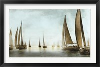 Framed Golden Sails