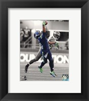 Framed Percy Harvin 2013 Spotlight Action