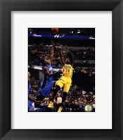 Framed Paul George 2013-14 Action