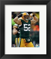 Framed Clay Matthews 2013