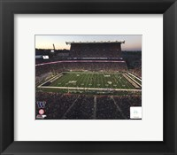 Framed Husky Stadium University of Washington Huskies 2013