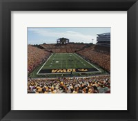 Framed Kinnick Stadium University of Iowa Hawkeyes 2013