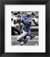 Framed Calvin Johnson Spotlight 2013