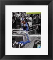 Framed Calvin Johnson 2013 Spotlight