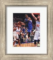 Framed Chris Paul 2013-14 with the ball
