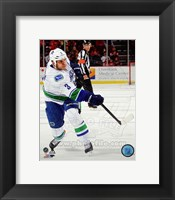 Framed Kevin Bieksa 2013-14 Action