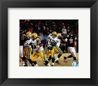 Framed Aaron Rodgers 2013 Action