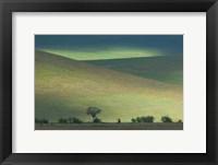 Framed Panoramic view of hill, Ngorongoro Crater, Arusha Region, Tanzania