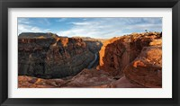 Framed River passing through mountains, Toroweap Point, Grand Canyon, Grand Canyon National Park, Arizona, USA