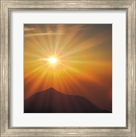 Framed Sun Shinning Over the Mountain, Computer graphics, Lens Flare