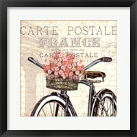 Paris Ride II Framed Print