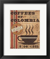 Framed Coffee Sack I