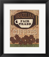 Framed Coffee Sack IV