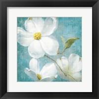 Framed Indiness Blossom Square Vintage IV