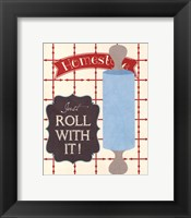 Roll With It Framed Print