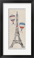 Paris from Above Framed Print