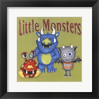 Framed Little Monsters