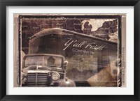 Framed Y'all Freight Co
