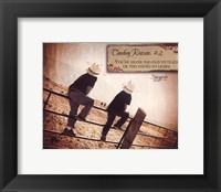 Framed Cowboy Reason II