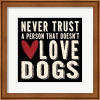 Framed Never Trust
