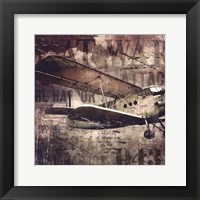 Framed Vintage War Aircraft