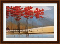Framed Red House