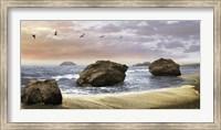 Framed Bodega Beach II