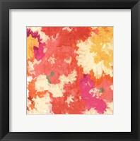 September Orange I Framed Print
