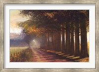 Framed Sunset Highway