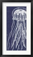 Framed Denim Washed Jellyfish