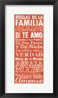 Framed Reglas de la Familia