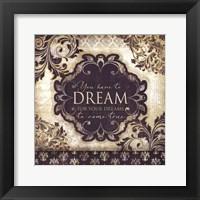 Dream - Square Framed Print