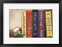 Frogs and Snails Framed Print