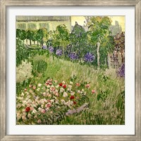 Framed Daubigny's garden, 1890