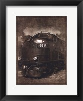 Framed Diesel Electric Locomotive
