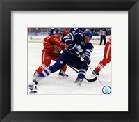 Framed James van Riemsdyk 2014 NHL Winter Classic Action