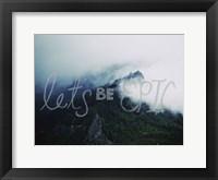 Framed Let's Be Epic