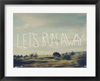 Framed Let's Run Away