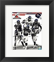 Framed Denver Broncos 2013 AFC Champions Team Composite