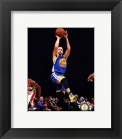 Framed Stephen Curry 2013-14 Action