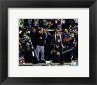 Framed Malcolm Smith & Richard Sherman Game Winning Interception 2013 NFC Championship Game