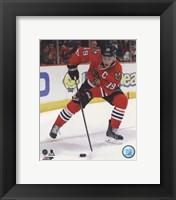 Framed Jonathan Toews 2013-14 Action in hockey