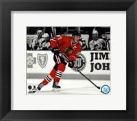 Framed Jonathan Toews 2013-14 Spotlight Action