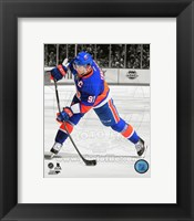 Framed John Tavares 2013-14 Spotlight Action